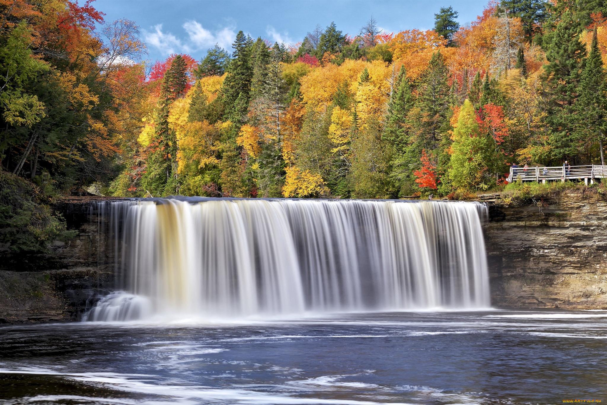 осень картинки водопады цветов интерьере
